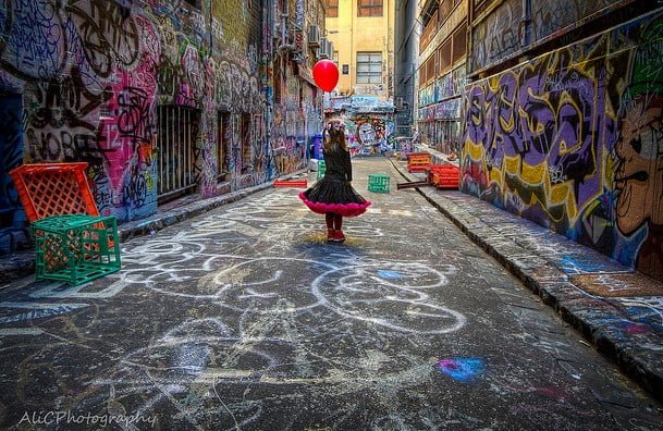 Go Touring Melbourne Laneways Street Art With Womangoingplaces