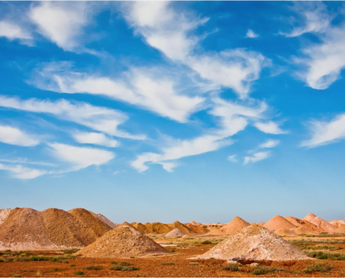 Mullock Heaps, Coober Pedy South Australia