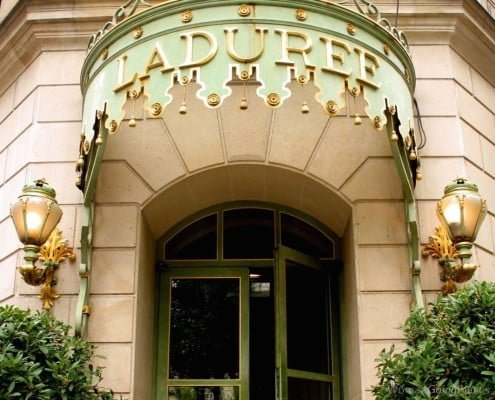 Laduree Patisserie, Champs Elysees, Paris