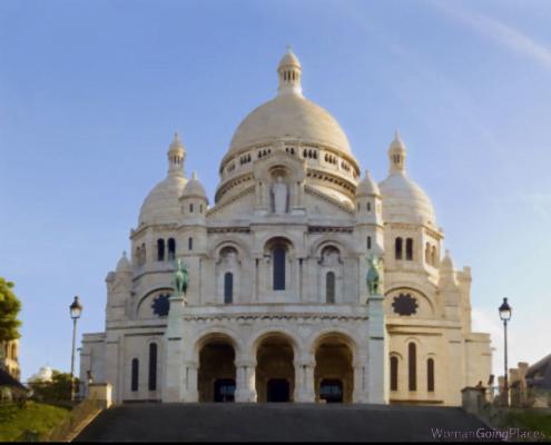 Sacre-Coeur Basilica, Montmartre, Paris