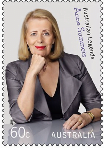 Anne Summers Australian Legends Stamp