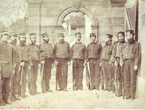 Port Arthur guards 1866 - ALMFA,SLT