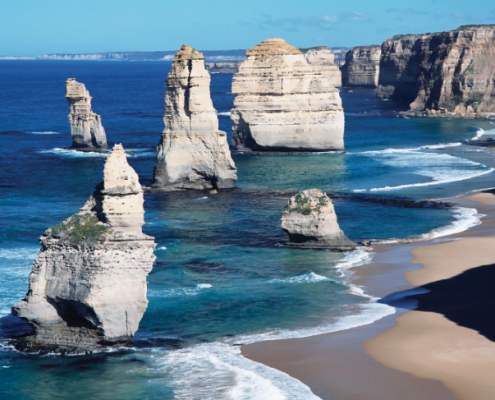 Great Ocean Road - photo Britannica Kids