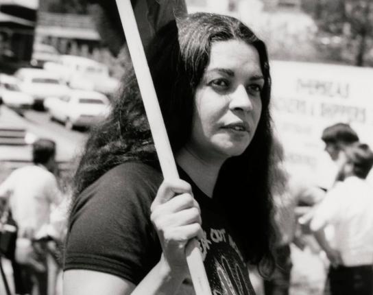 Marcia Langton 1982 - National Portrait Gallery -photo Juno Gemes