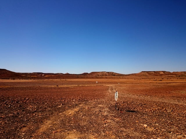 The Oodnadatta Track - photo Jacinta Agostinelli