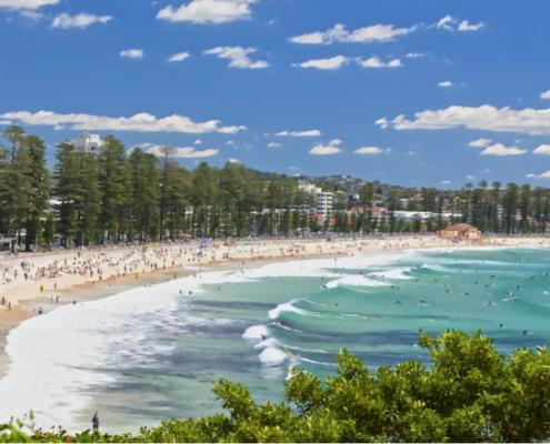 Manly beach, Sydney - australia.com