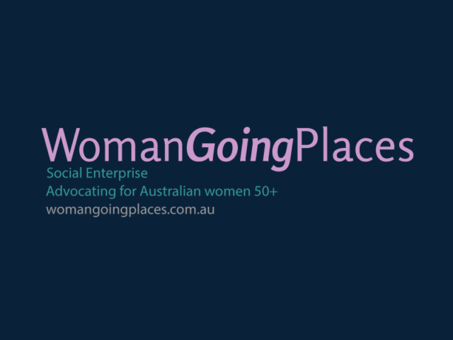 Woman Going Places